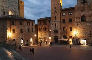 Im Winter kann man den Zauber San Gimignanos ohne Gedränge genießen.