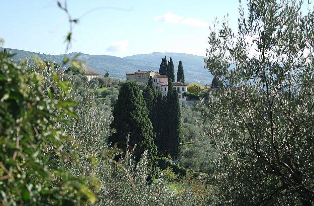 Settignano bietet einen herrlichen Ausblick auf die Landschaft um Florenz.