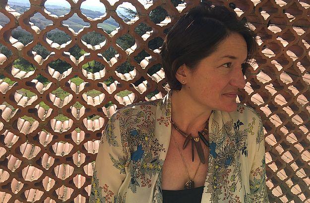 "Swiss-born Katja Meier, author of ""Across the Big Blue Sea""."