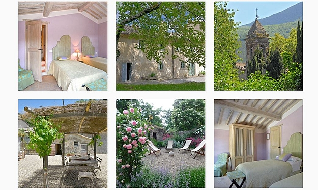 How about dream holidays at the Vivo d'Orcia estate, in the Orcia Valley?