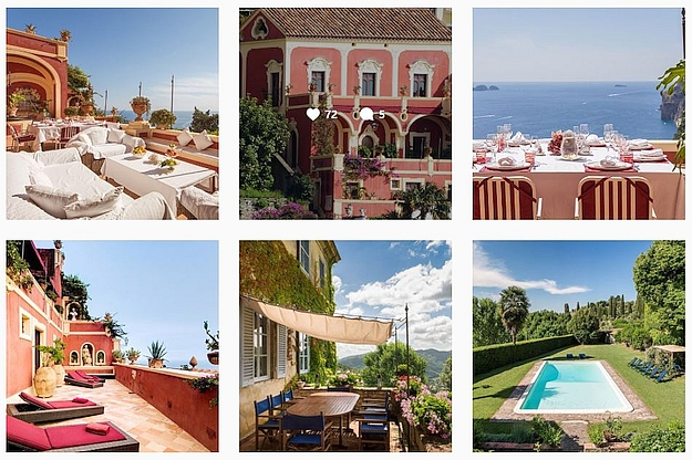 Excellence Villas also invites you to its Lucca and Positano properties.