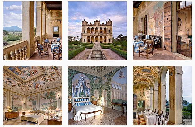 Come live like a prince and princess in the heart of the Veneto!