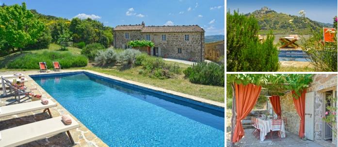 Villas de vacances avec piscine privée