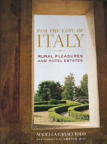 For the Love of Italy - Marella Caracciolo