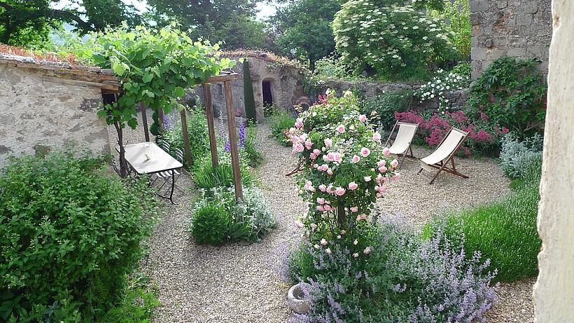 Der Garten der Casa di Pietro wurde von einem englischen Gartenarchitekten angelegt.