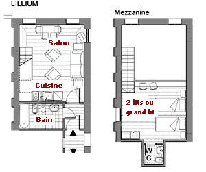 plan maison avec mezzanine l120025 rgion parisienne 170. Black Bedroom Furniture Sets. Home Design Ideas