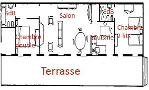 Toscane bord de mer casa nel bosco - Plan de maison bord de mer ...