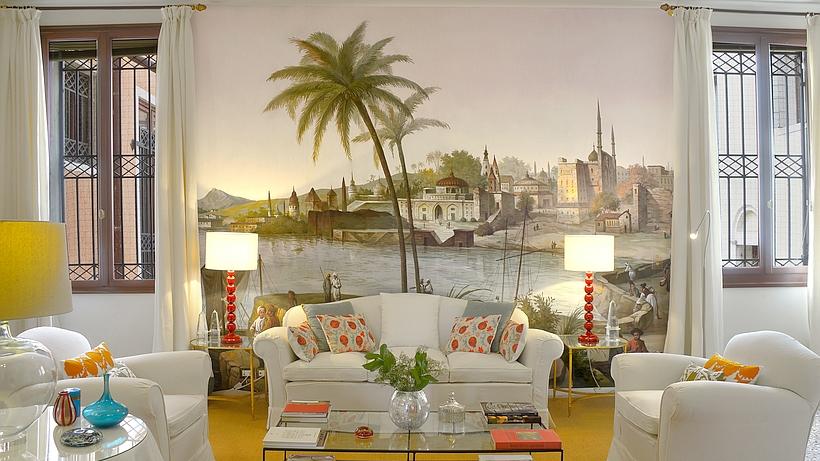 luxus ferienwohnung mit dachterrasse in venedig am canale grande. Black Bedroom Furniture Sets. Home Design Ideas