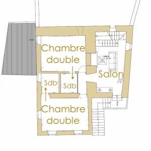 Dépendance 1er étage