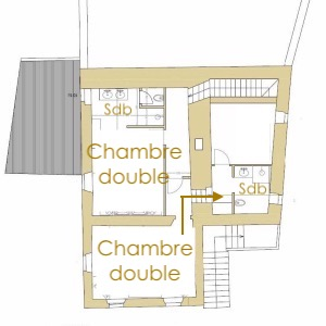 Dépendance 2nd étage