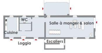 Maison principale RDC