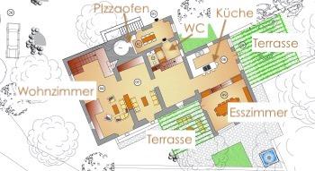 Bosco, Erdgeschoss